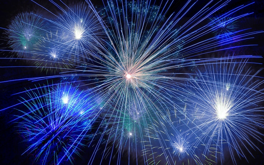 Free Fireworks Displays