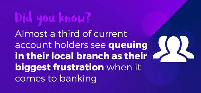 banking frustrations infographic