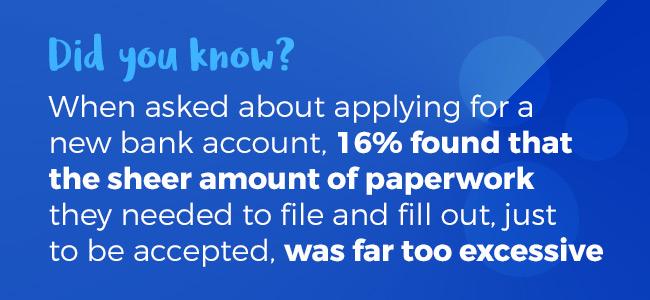 banking paperwork frustrations